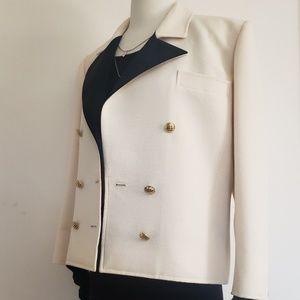 Vintage 80s YSL wool blazer